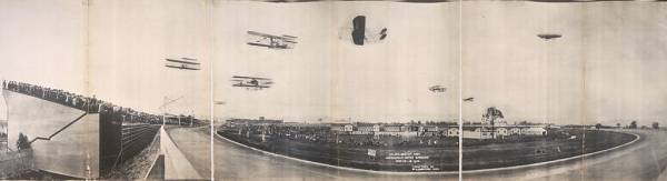Meeting d'aviation, Indianapolis, 1910.